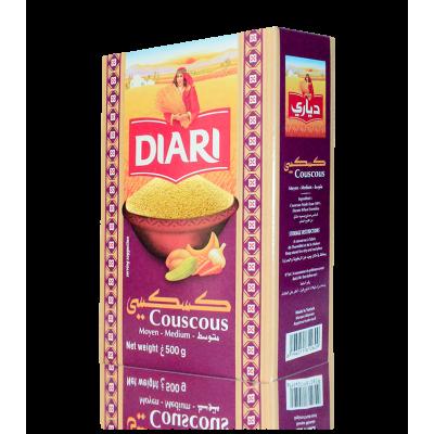 """Couscous """"DIARI"""" 500gr"""