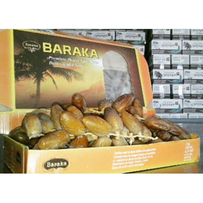 Dates on a branch box 1kg