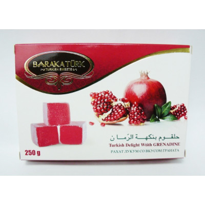 Delight with pomegranate flavor 250gr