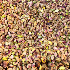 Iranian pistachios are not roasted not salted cleaned