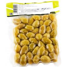 Green olives, vacuum bag 200 gr