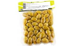 Оливки зеленые, вакуумный пакет 200 гр