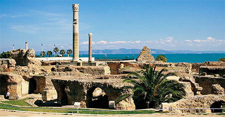 Земля древнего Карфагена