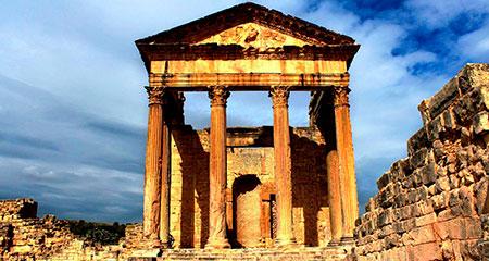 Дугга - город нумидийского королевства