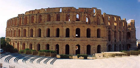 Эль-Джем - римский Колизей